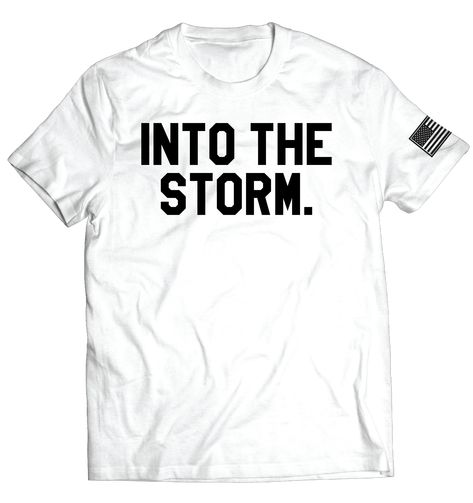 Into the Storm 2.0 Tee // White - Large