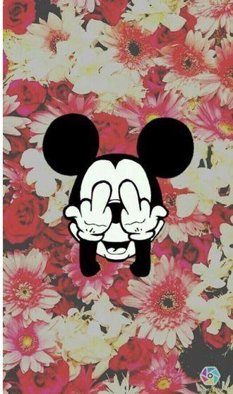 Fu Flowers Mickey Fond D Ecran Mickey Fond D Ecran Telephone Fond D Ecran Mickey Mouse