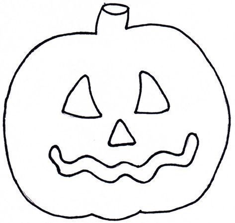 Xobbu Malvorlage Halloween Kurbis Basteln Vorlage Printable Herbstbastelnmitkindernfenst Halloween Templates Pumpkin Coloring Pages Halloween Crafts Preschool