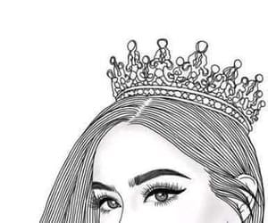 352 Images About Outlines Drawings On We Heart It See More About Art Drawing And Girl Queen Wallpaper Crown Queen Drawing Queens Wallpaper