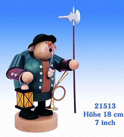 Smoker Nightwatchman - 18 cm / 7 inch $58.00 plus shipping