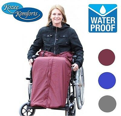 Details About Kozee Komforts Kozee Toze Toes Cover Waterproof Leg Warmer Wheelchair Aid Leg Warmers Cover Legs