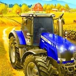 لعبة جرار زراعي قروي Village Farming Tractor Monster Trucks Tractors Trucks
