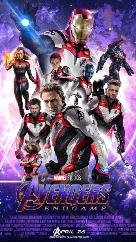 Avengers Endgame Quantum Suit Poster Iphone Wallpaper Iphone
