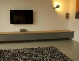 Tv Meubel Hoogglans Wit Met Houten Blad.Afbeeldingsresultaat Voor Tv Meubel 300cm Breed Wit Houten