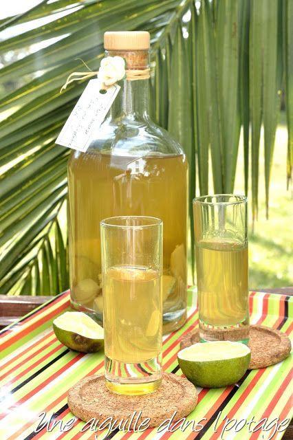 rhum arrange citron vert gingembre