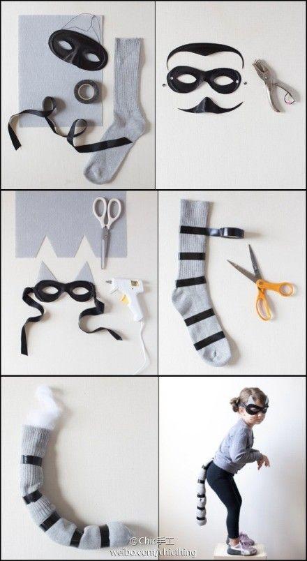 Diy raccoon costume google search kid costumes pinte solutioingenieria Images