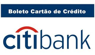 Como Emitir Citibank Boletos Banks Fatura Do Cartao Banco