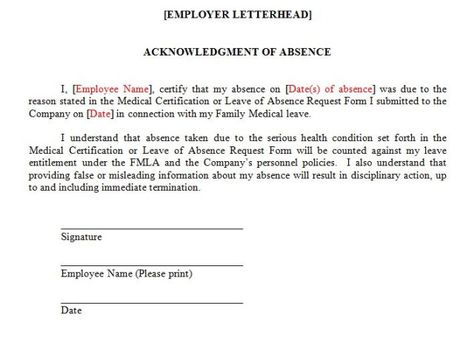 leave for the reason provided combat fmla abuse insights absence - medical certification form