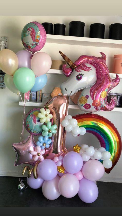 Balloon Centerpieces Wedding, Masquerade Centerpieces, Balloon Decorations Party, Birthday Decorations, Balloon Stands, Balloon Display, Balloon Flowers, Balloon Bouquet, Unicorn Birthday Parties