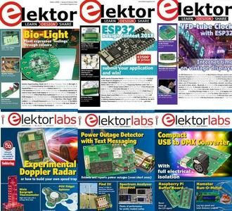 Elektor USA - Full Year 2018 Collection is a monthly