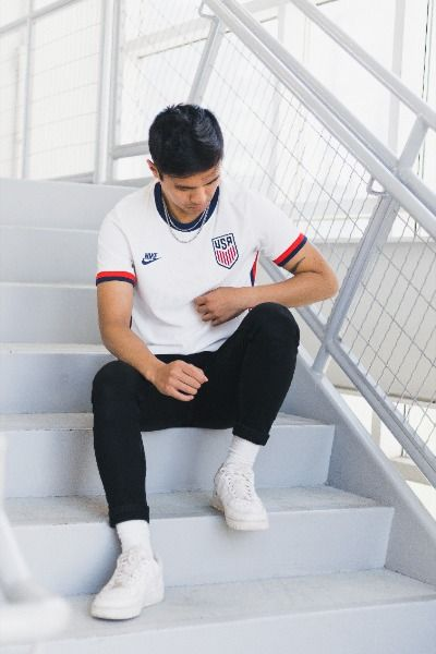 Nike Usmnt Home Jersey 2020 In 2020 Soccer Outfits Soccer Jersey Usa Soccer Jersey