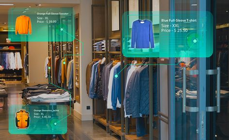 Augmented Reality Shopping Experince