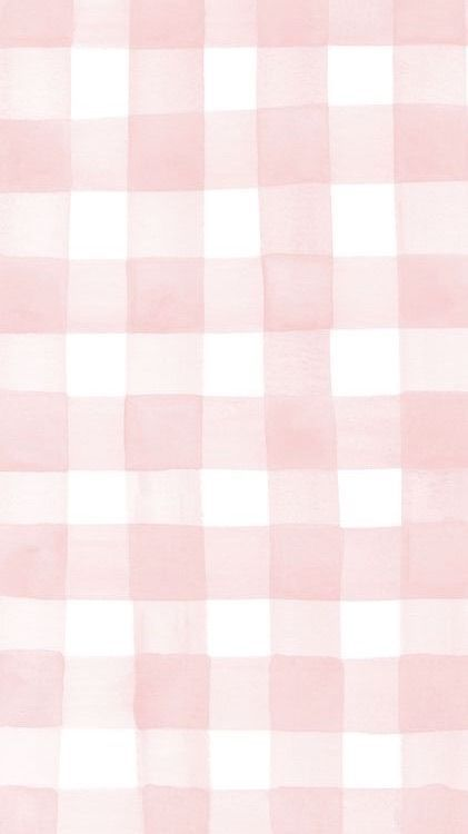 Pink and White Gingham | iPhone Wallpaper #pink #white #gingham