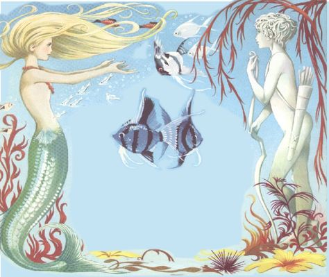 little mermaid by Janet and Anne Grahame Johnstone
