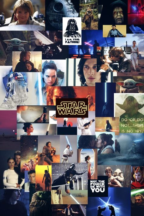 Wallpaper Star Wars saga