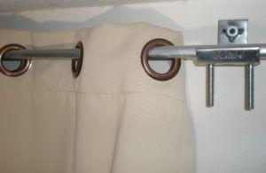Stick On Curtain Rod Hooks