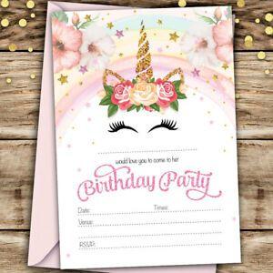 Carte D Invitation Anniversaire Gratuite à Imprimer Pour Ado Fille