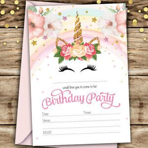 d invitation pour anniversaire ado fille