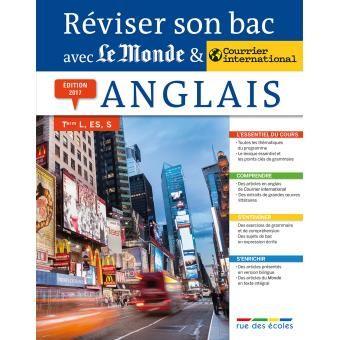 Reviser Son Bac Avec Le Monde Anglais 2017 Edition 2017 Broche Collectif Achat Livre Exercice Grammaire Sujet Du Bac Anglais