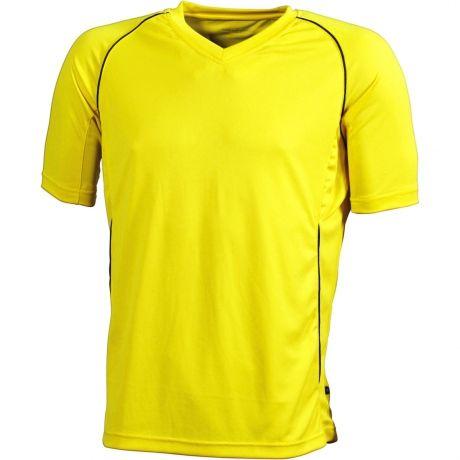 a6459572a6ebd Maillot football ENFANT personnalisé prénom et numéro de votre choix - T- shirt polyester col V JN386K