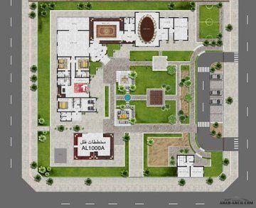 مخططات فلل On Twitter Floor Plan Design House Layout Plans Villa Plan