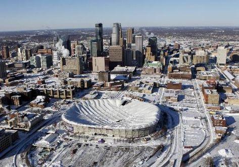 Minnesota Blizzard Collapses Metrodome Roof [PHOTOS]