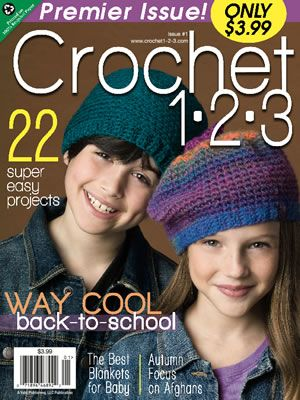 Nuova rivista di uncinetto americana.