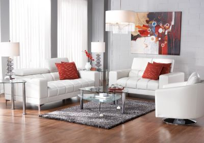 Shop for a Sofia Vergara Santorini 7 Pc Living Room at Rooms To Go. Find Living Room Sets that will look great in your home and complement the restu2026 : sybella sectional - Sectionals, Sofas & Couches