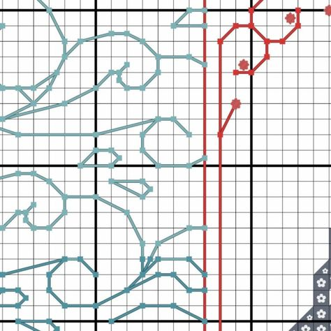 PDF Cross Stitch Pattern: Swim Blackwork Pattern, Jack's Mannequin Cross Stitch, Inspiration Pattern, Mental Health Cross Stitch