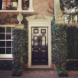 Hidden entryways of Sutton Place...East Side of Manhattan.