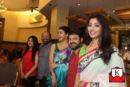 The fourth song launch of the upcoming Bengali film Konttho