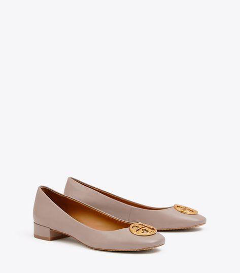 33d98df96722 CHELSEA HEELED BALLET FLAT. CHELSEA HEELED BALLET FLAT. More information. Designer  Flat Shoes  Ankle Strap   Lace Up Flats ...