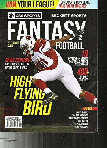 Cbs Sports Beckett Sports Fantasy Football High Flying Bird Summer 2017 Cbs Sports Fantasy Football Cbs