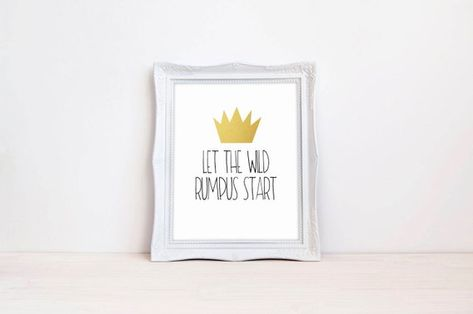 picture regarding Let the Wild Rumpus Start Printable called Record of Pinterest exactly where the wild factors are birthday