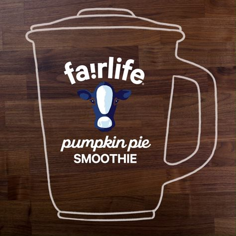 It's pumpkin pie season! Try your favorite fall dessert in a new form with fairlife's Pumpkin Pie Smoothie Recipe.
