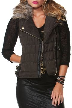 Sass clothing Street Smart Puffer Vest