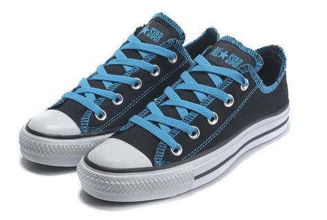 9764096245e481 Classic Converse Low Tops Blue Serif AS Seas OX Black Canvas Shoes  1C507   -  55.00   Designer Converse American UK Flag and All Star Platfo.