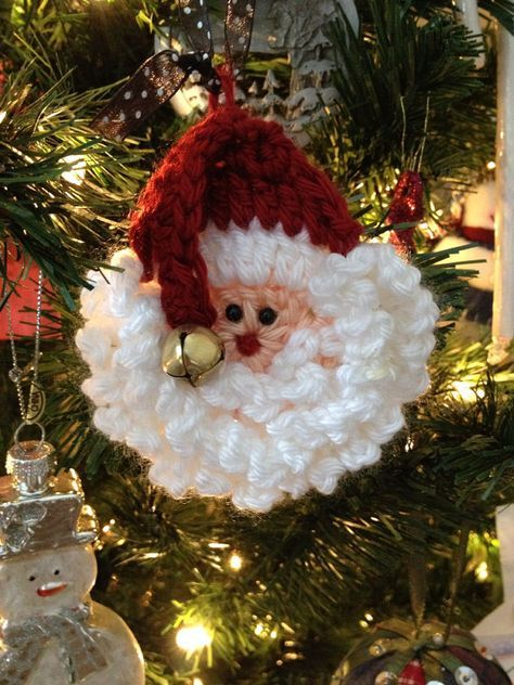Crochet Santa Pattern Easy and FastUse as a Pin by craftnconsign, $5.00