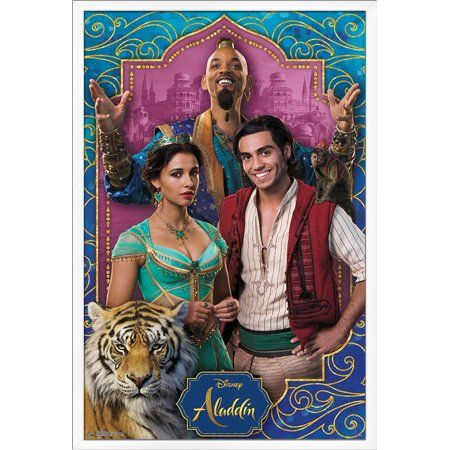 Disney Aladdin - Group Poster
