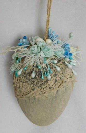 Pisanka Mix Media Zawieszki Ozdoby Wielkanocne 7791223011 Oficjalne Archiwum Allegro Easter Crafts Easter Decorations Crafts