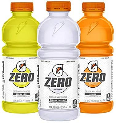 Amazon Com Gatorade Zero Sugar Thirst Quencher 3 Flavor Variety Pack 20 Ounce Bottles Pack Of 12 Grocery Gourmet In 2020 Gatorade Flavor Variety Variety Pack