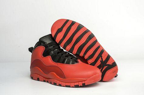 70704ca18b4 Air Jordan 10 PSNY Public School Red + Black AJ10 537509 Hot Sale ...