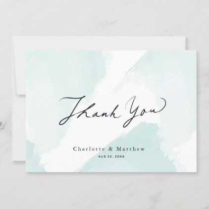 Pink and Blue Confetti Note Card Set Blank Folded Cards Thanks Baby Shower Thank You Note Card Thank You