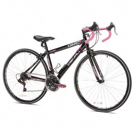Gmc 17 Inch 700c Women S Denali Road Bike Black Pink