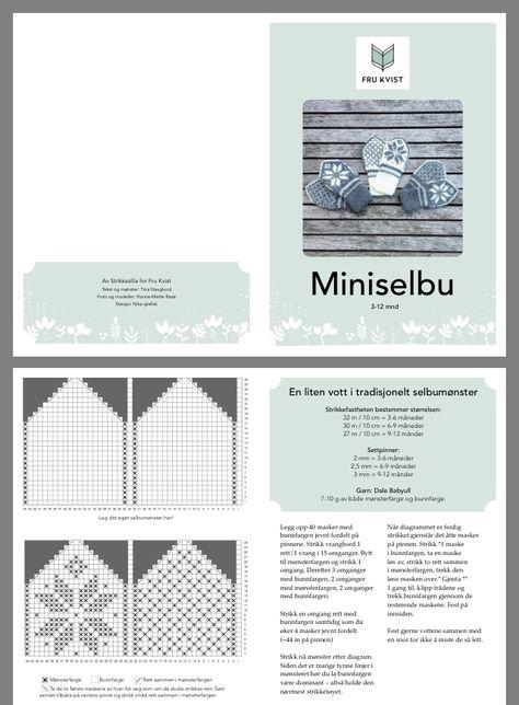 Miniselbu — Strikkezilla Design