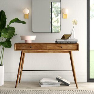 Modern Contemporary Living Room Furniture Allmodern Entryway Console Table Modern Console Tables Console Table