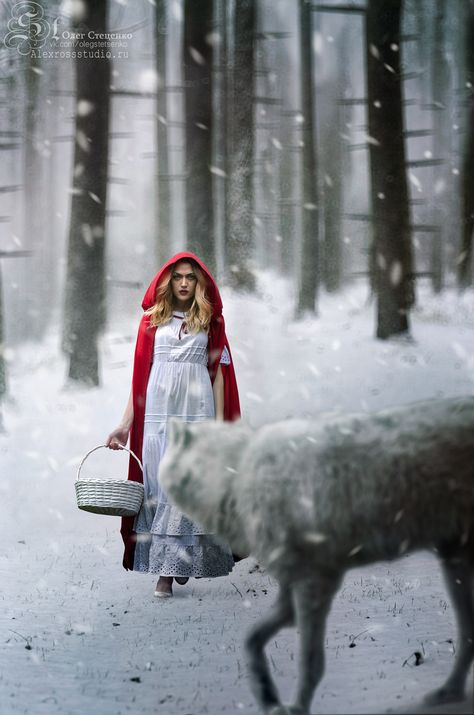 Red Riding Hood is a story everyone knows, but do you know this story? This isn't the normal Little Red Riding Hood. This is Vanessa Fence. Vanessa is a normal.