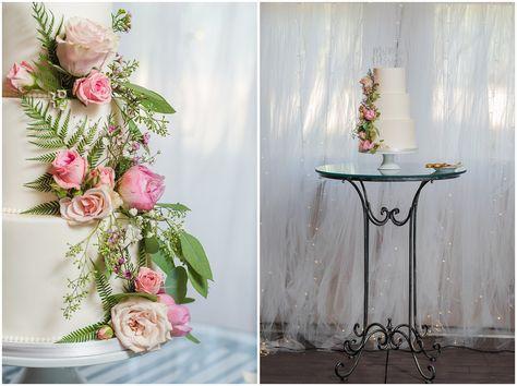 White wedding cake | Oak Hills Utah Dusty Rose and Gray Summer Wedding | Jessie and Dallin Photography #utahwedding #utahsummerwedding #summerwedding #mountainwedding #rockymountainwedding #blushandgraywedding #blushandgray #oakhillsutah #utahweddingvenue