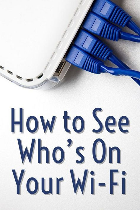 How to See Who's On Your Wi-Fi